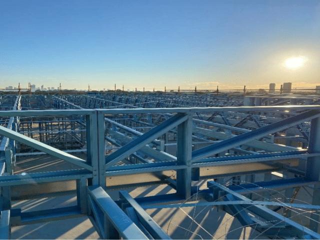 Roof Framing<br/>Taking Shape